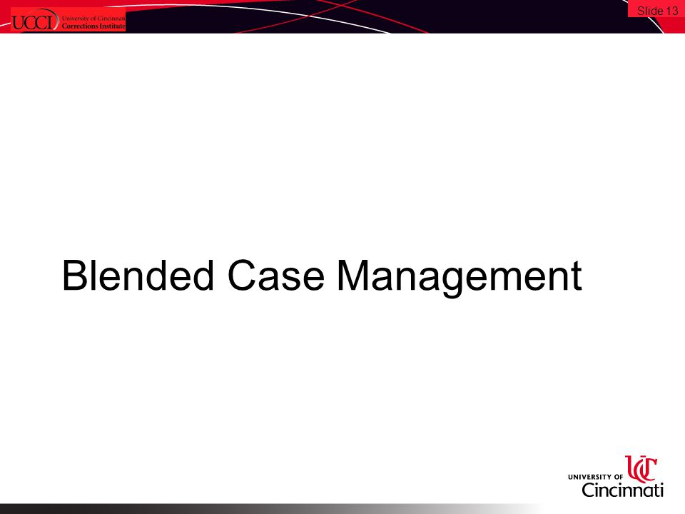 Blended Case Management Slide 13