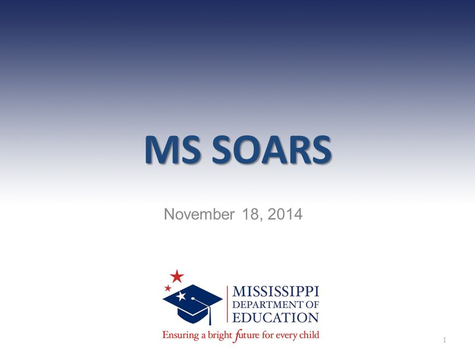 MS SOARS November 18, 2014 1