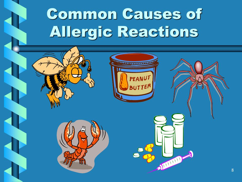 8 Common Causes of Allergic Reactions