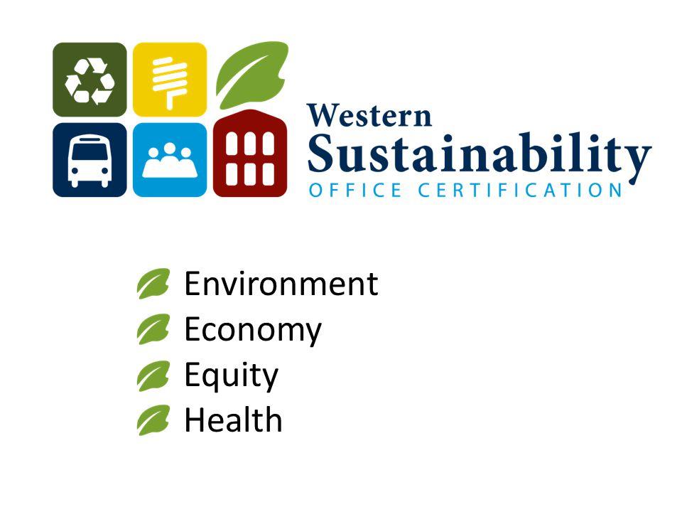 Environment Economy Equity Health
