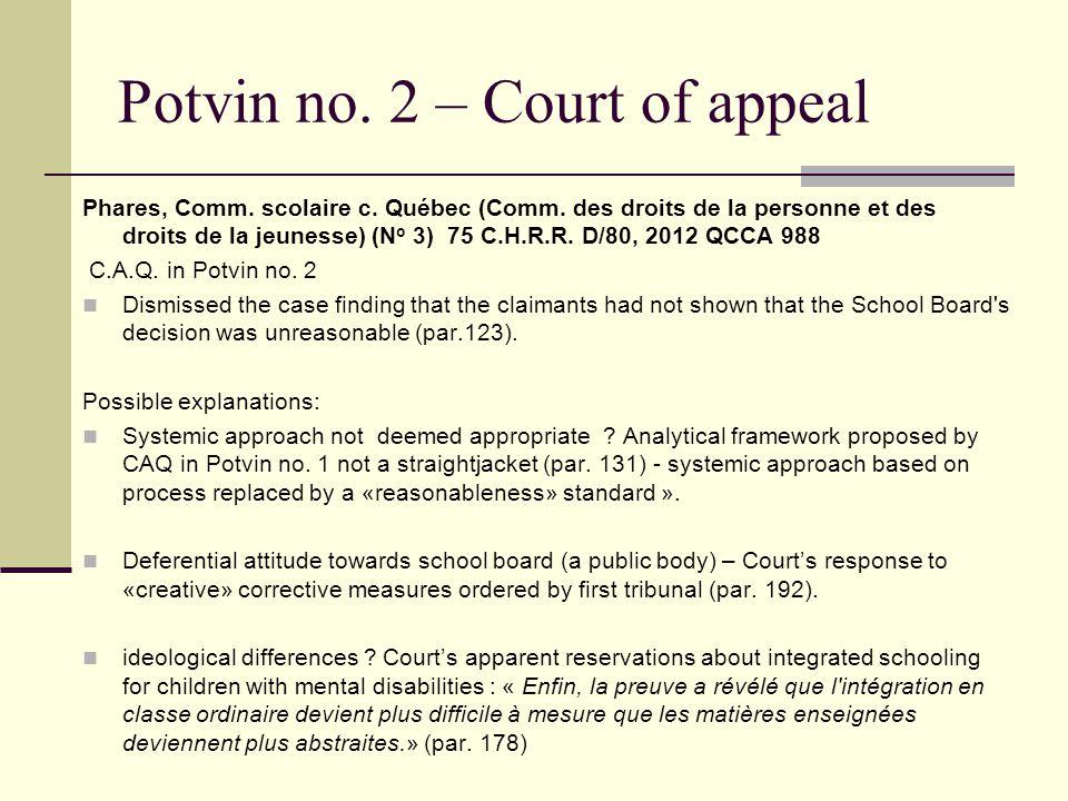 Moore Moore v.North Vancouver School Dist. No. 44 (No.