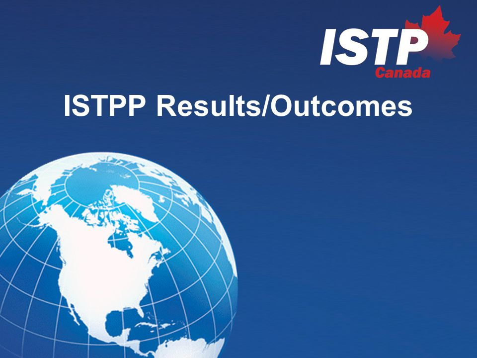 ISTPP Performance Measurement Key Performance Issues Matchmaking Collaborative R&D projects Targeted technology areas Contribution to the economic position of stakeholders Contribution to the creation of an innovative workforce