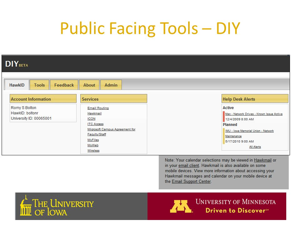 Public Facing Tools – DIY