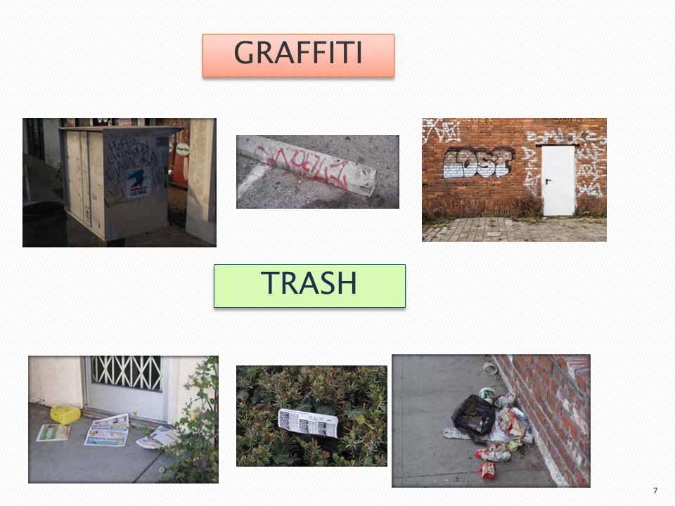 7 GRAFFITI TRASH