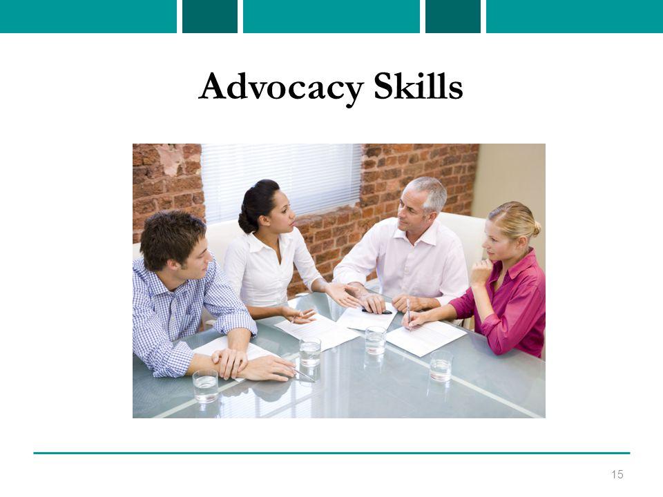 Advocacy Skills 15