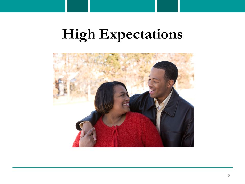 High Expectations 3