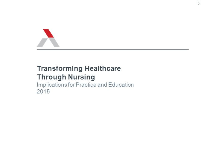 © 2013 The Advisory Board Company 26427 2 3 1 Road Map Implications for Nursing Practice and Education Care Delivery Transformation Our New Market Reality 6