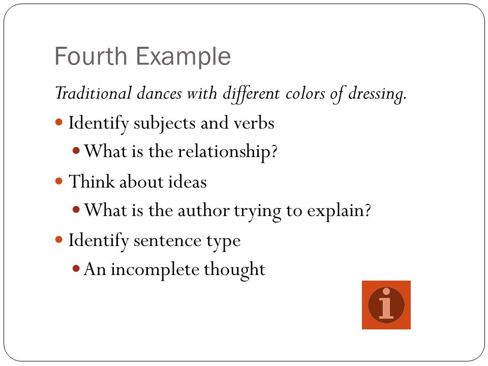 Recognition and Correction In your own writing, be aware: Clauses and Phrases Sentence Types Avoid four common structural errors Comma Splice Run-On Fragment Faulty parallel structure