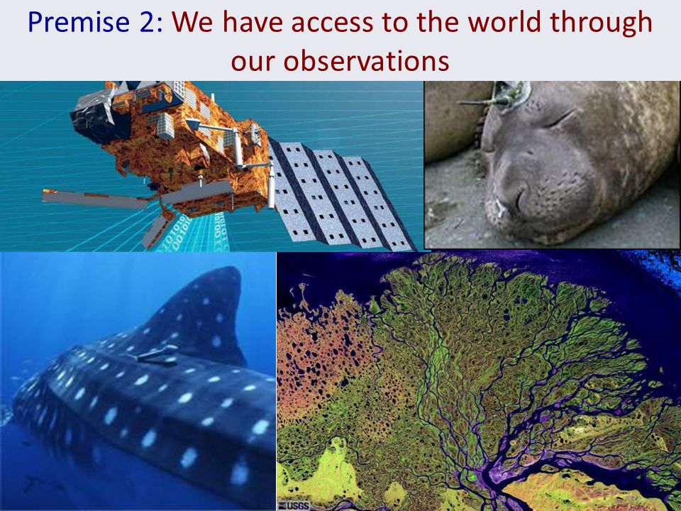 Premise 2: We have access to the world through our observations