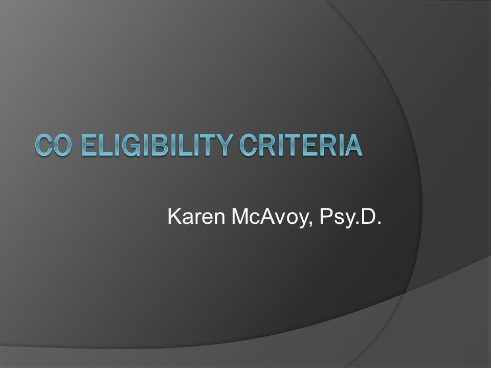 Karen McAvoy, Psy.D.