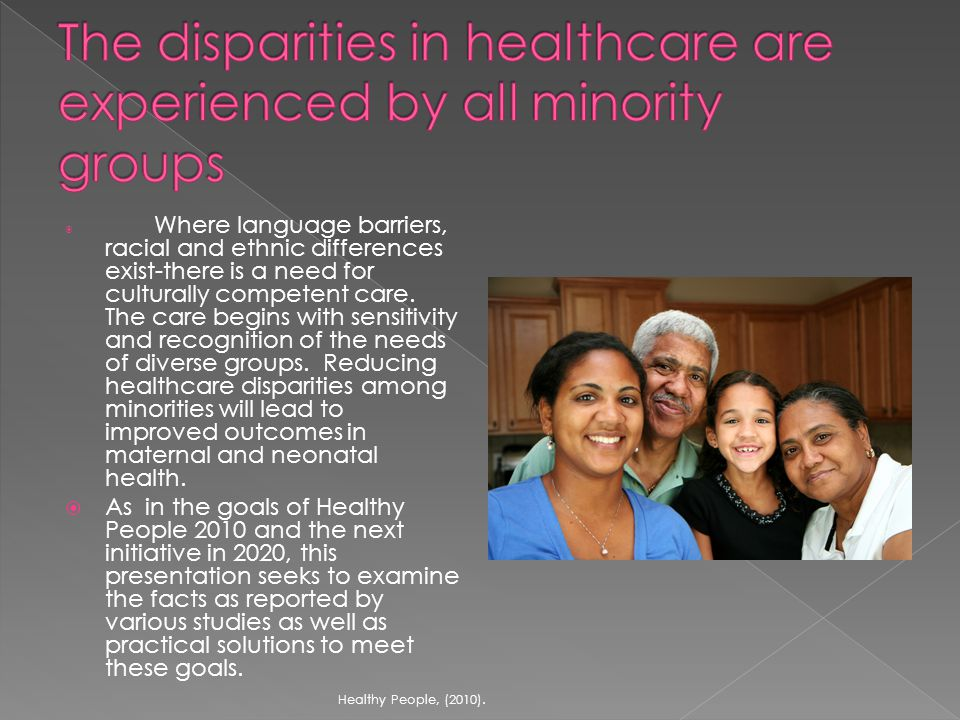  It is well known that African - Americans do not participate in clinical trials at the rate of other ethnic groups.