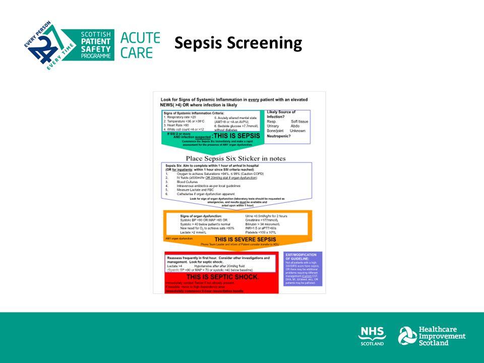 Sepsis Screening