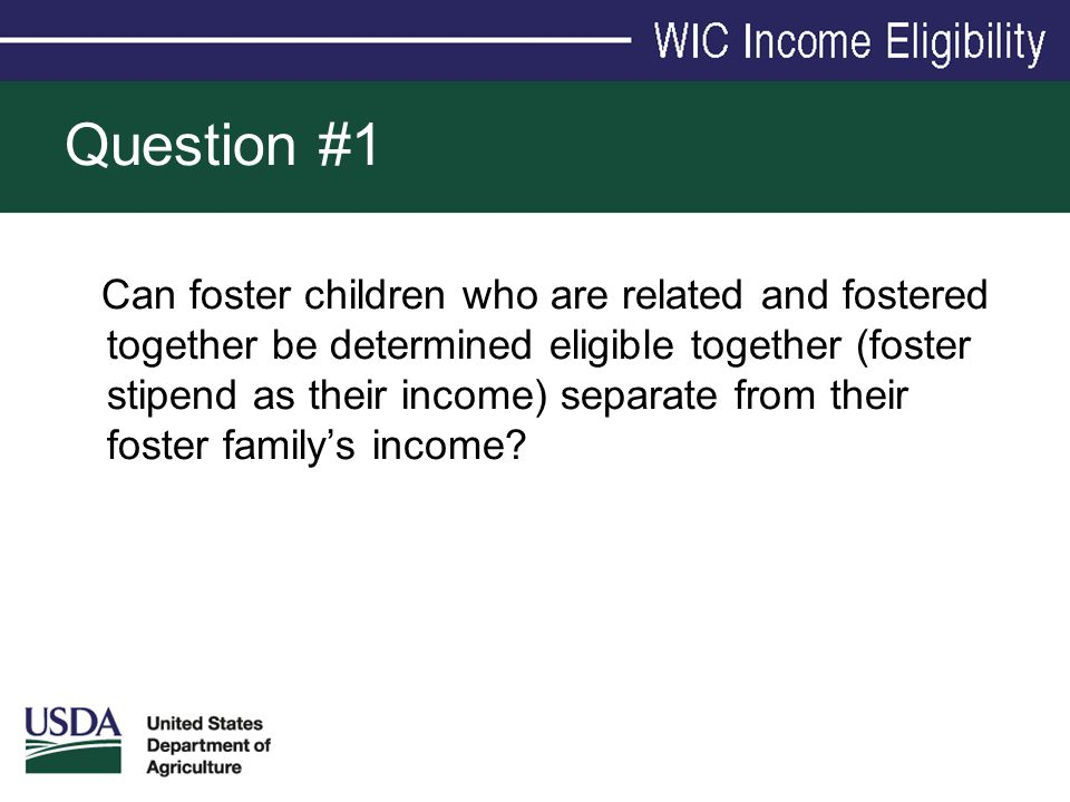 Can foster children who are related and fostered together be determined eligible together (foster stipend as their income) separate from their foster