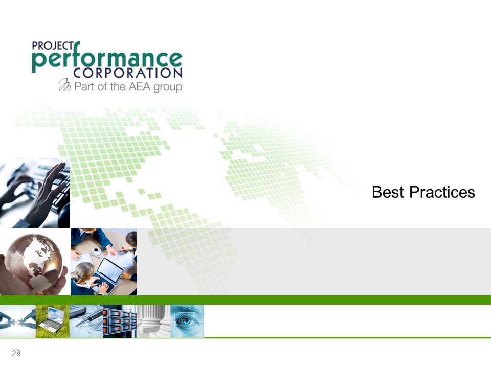 Best Practices 28