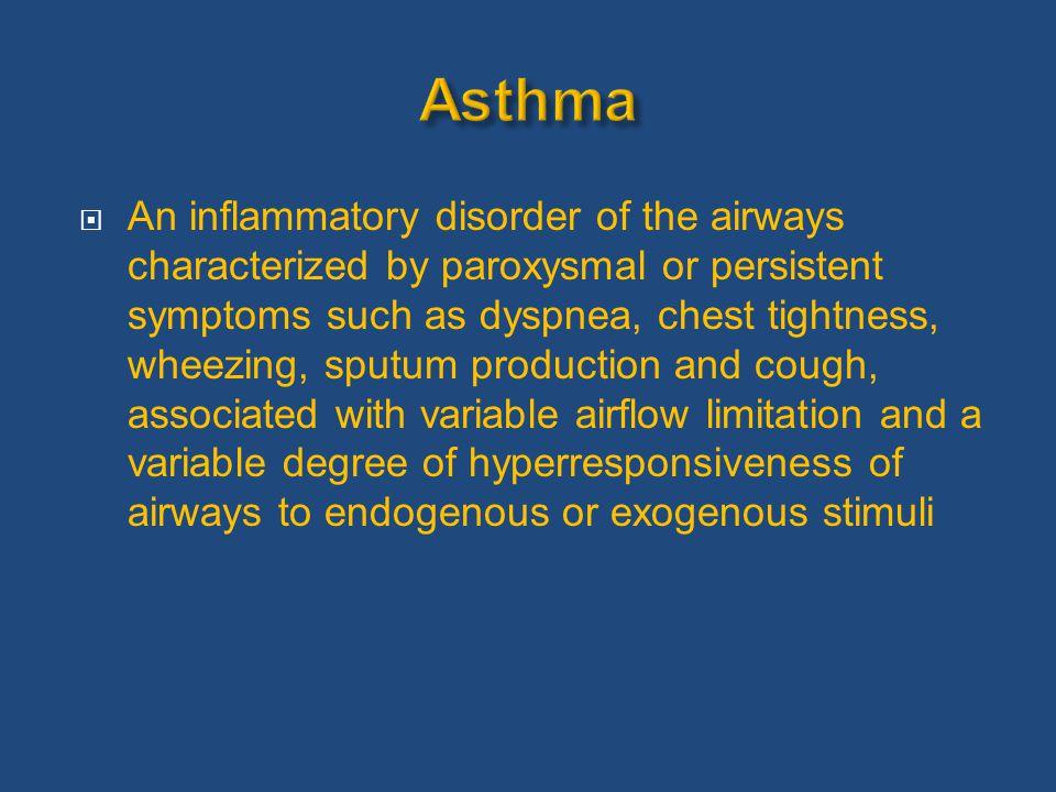Asthma Prevalence and Mortality Source: Masoli M et al. Allergy 2004