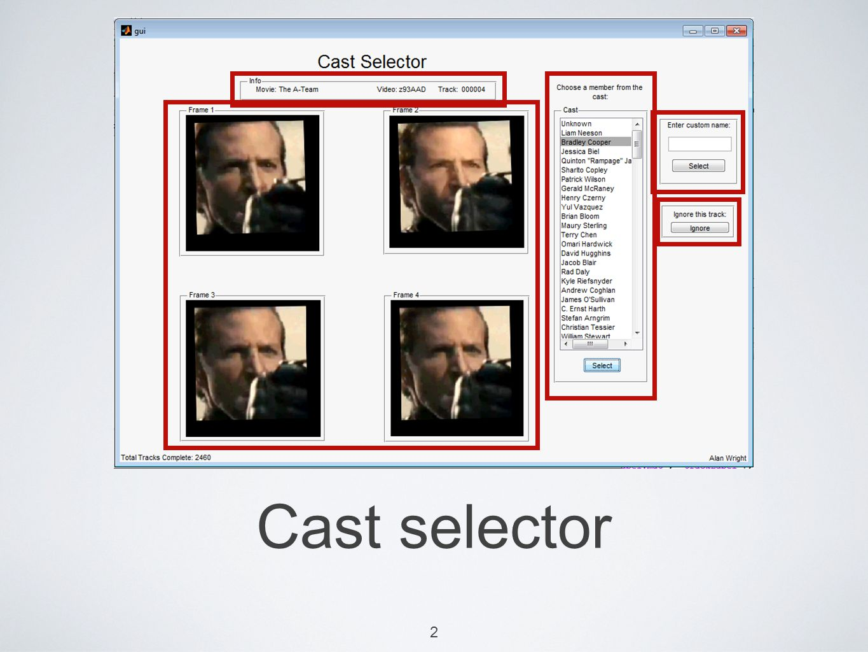 Cast selector 2