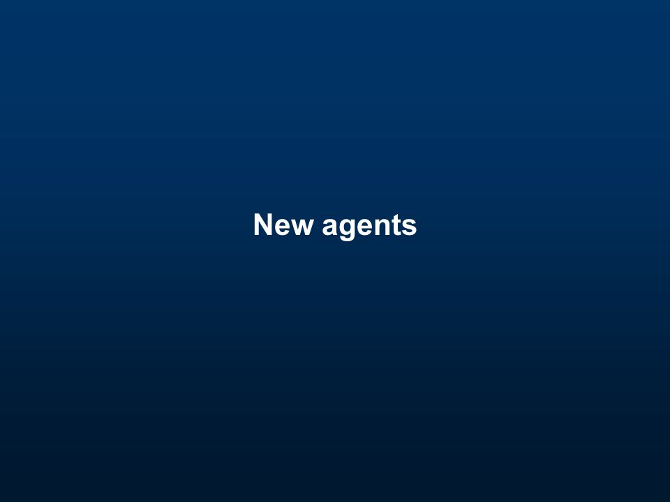 New agents