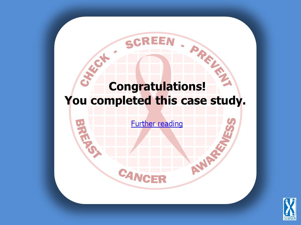 Congratulations! You completed this case study. Further reading