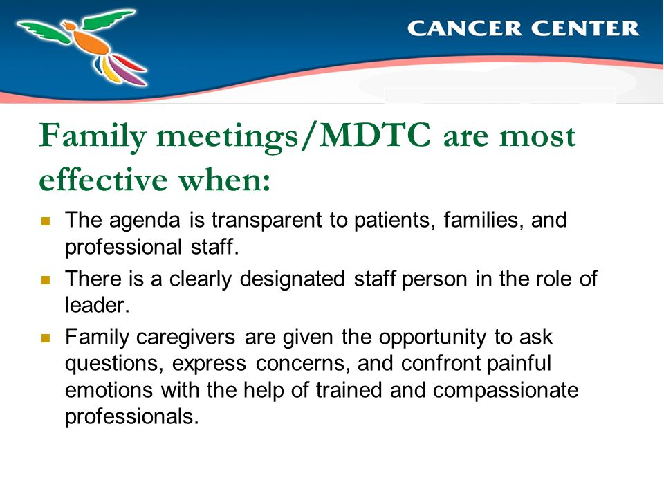 Family Conference/MDTC Process Steps Why are you meeting.