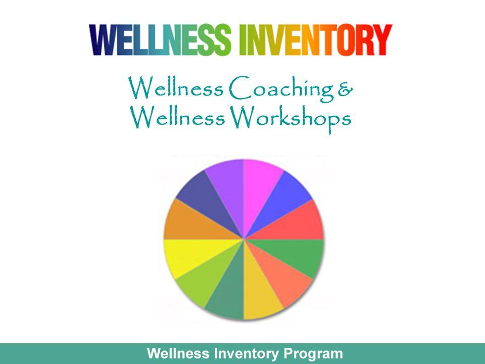 Wellness Coaching & Wellness Workshops
