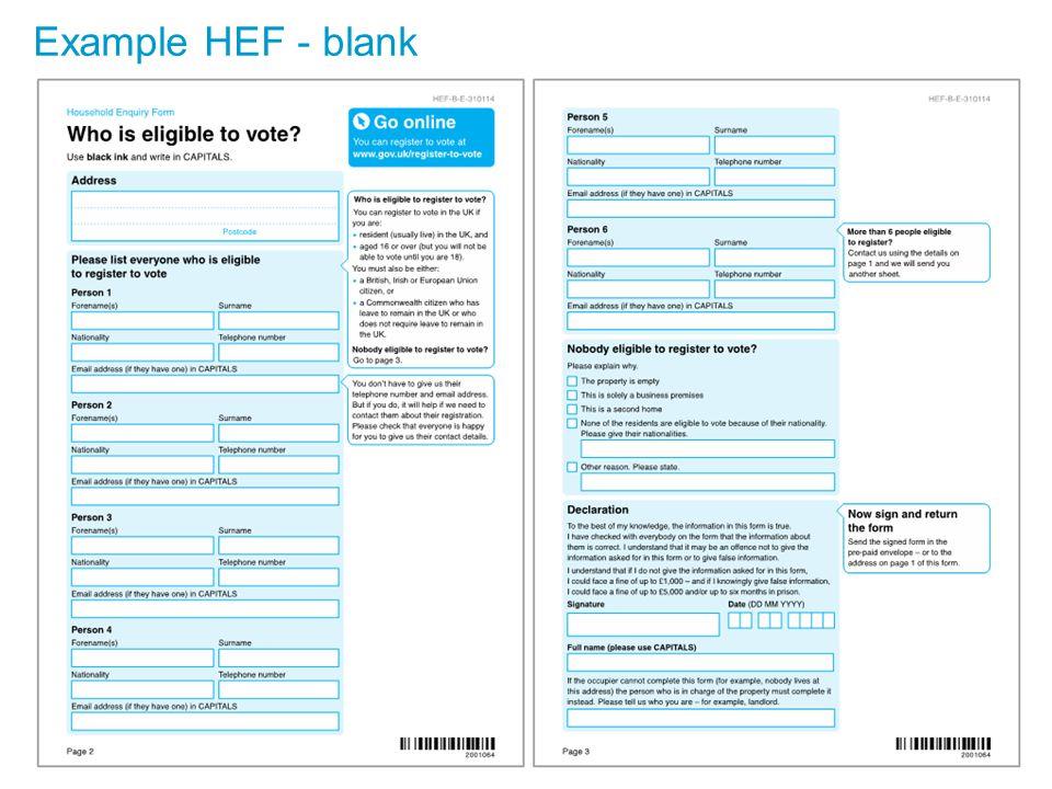 Example HEF - blank 13
