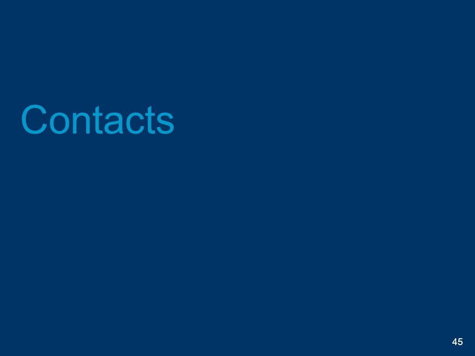 Contacts 45