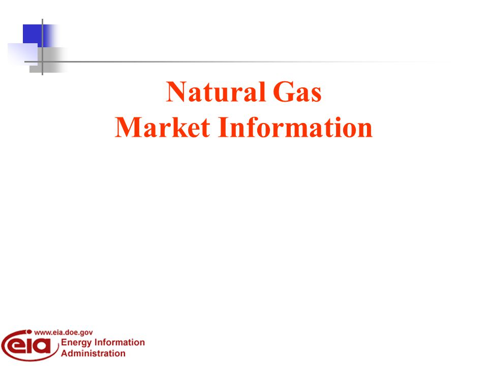Natural Gas Market Information