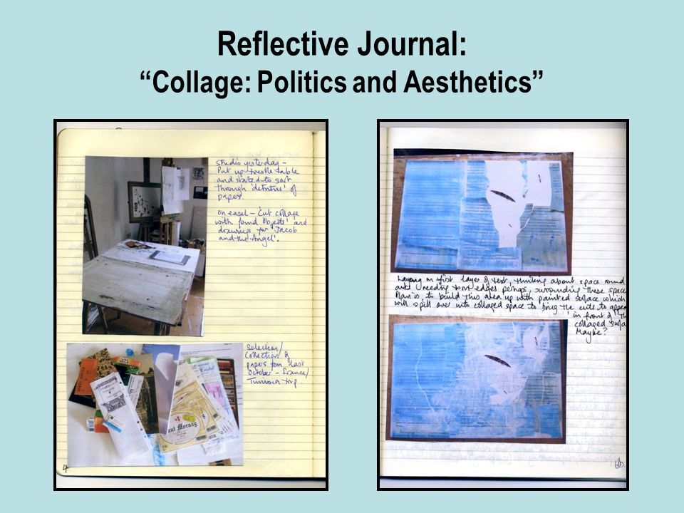 Reflective Journal: Collage: Politics and Aesthetics
