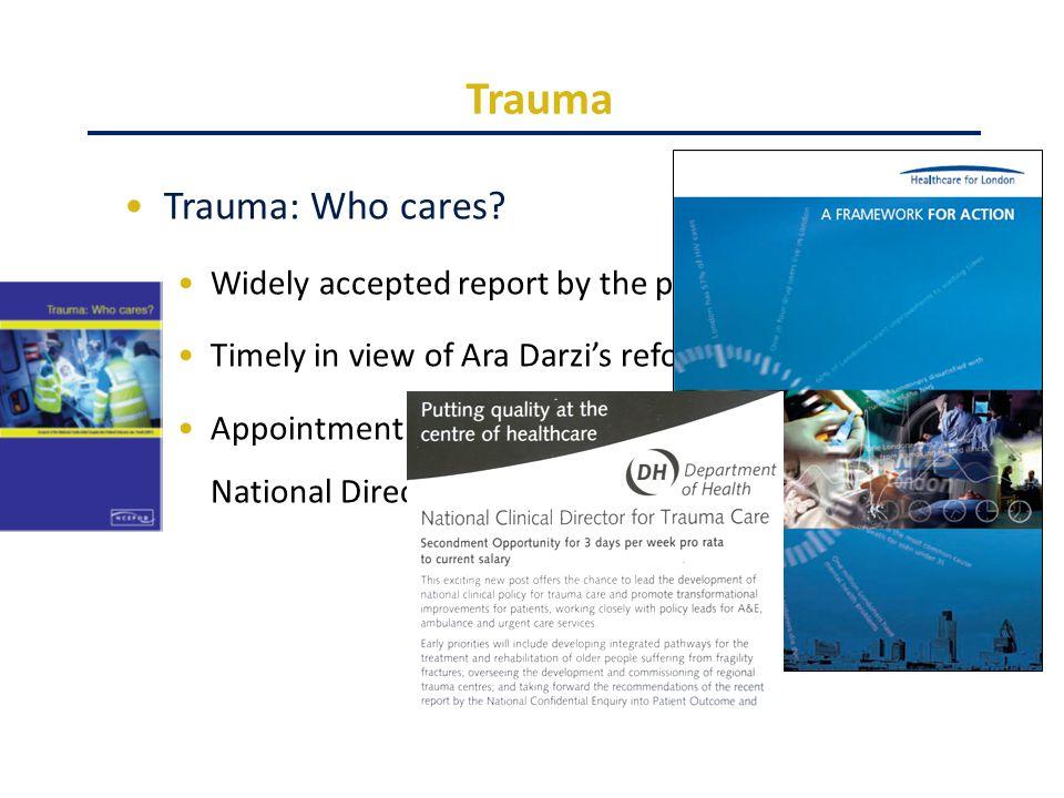 Trauma Trauma: Who cares.