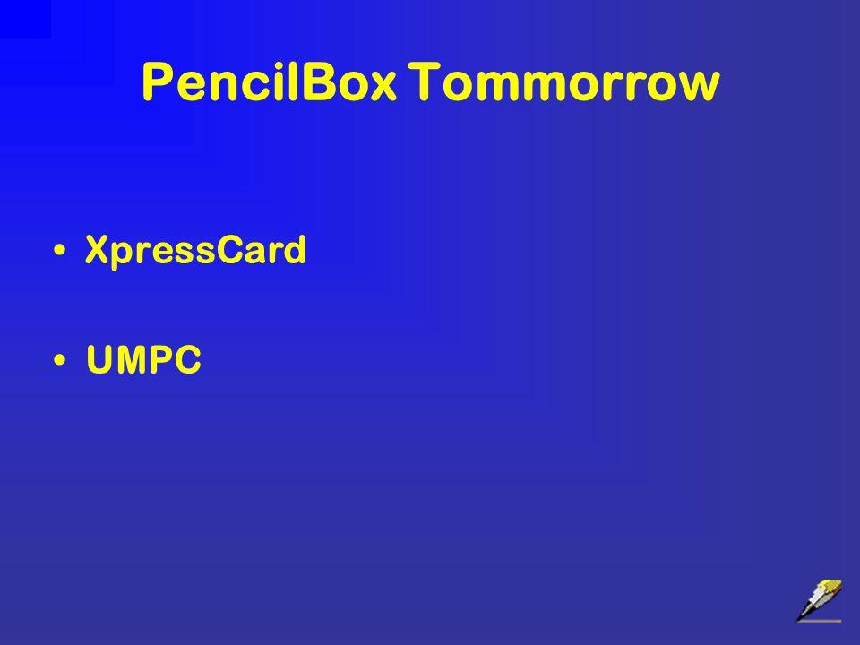 PencilBox Tommorrow XpressCard UMPC