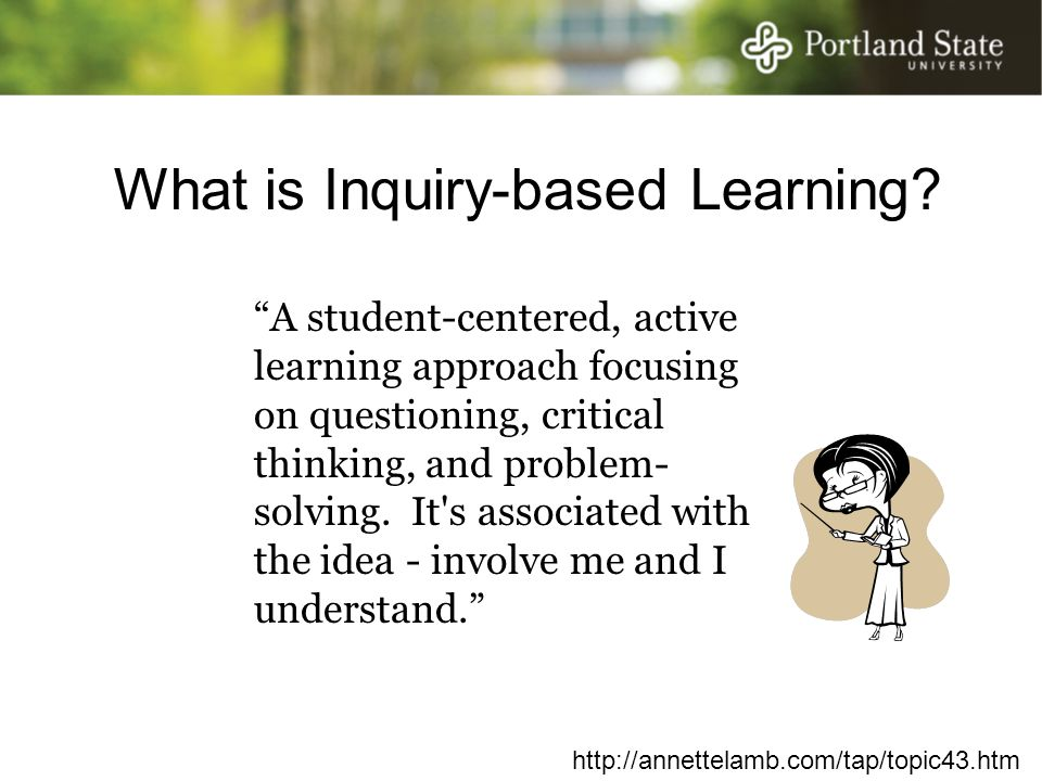 What is Inquiry-based Learning.