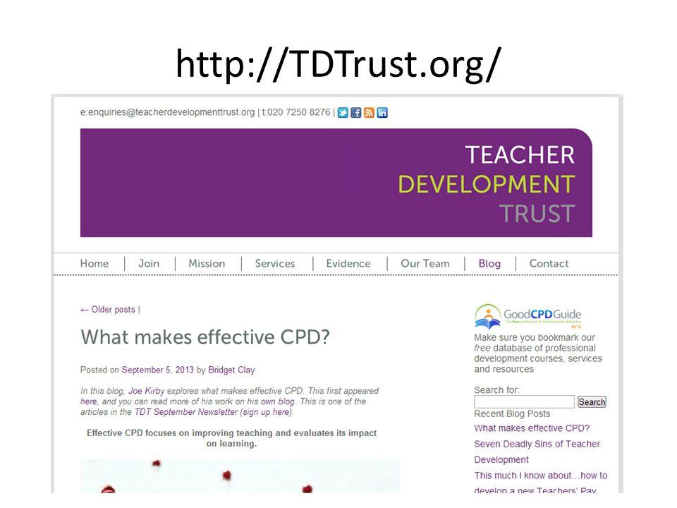 http://TDTrust.org/