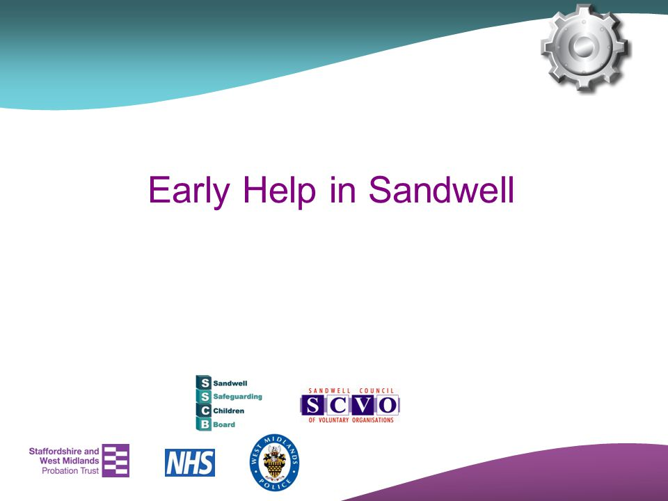 Defining Early Help Early Help a core part of the Sandwell Improvement Plan.