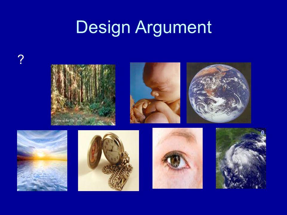 Design Argument ?