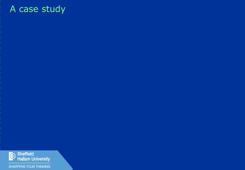 31 A case study