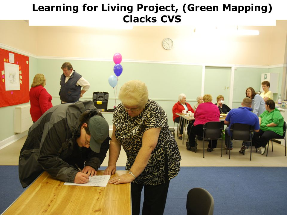 Balmaha Environmental Playscape Learning for Living Project, (Green Mapping) Clacks CVS