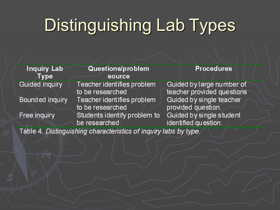 Distinguishing Lab Types