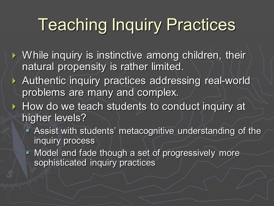 Inquiry & Intellectual Processes