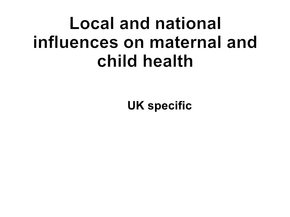 UK specific