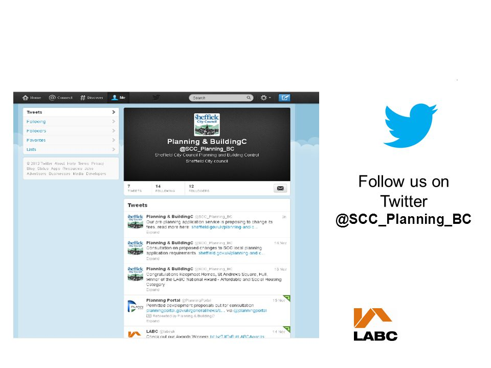 Follow us on Twitter @SCC_Planning_BC