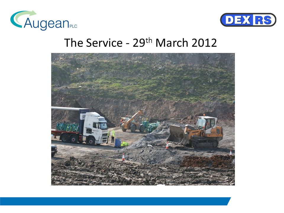 The Service - 29 th March 2012