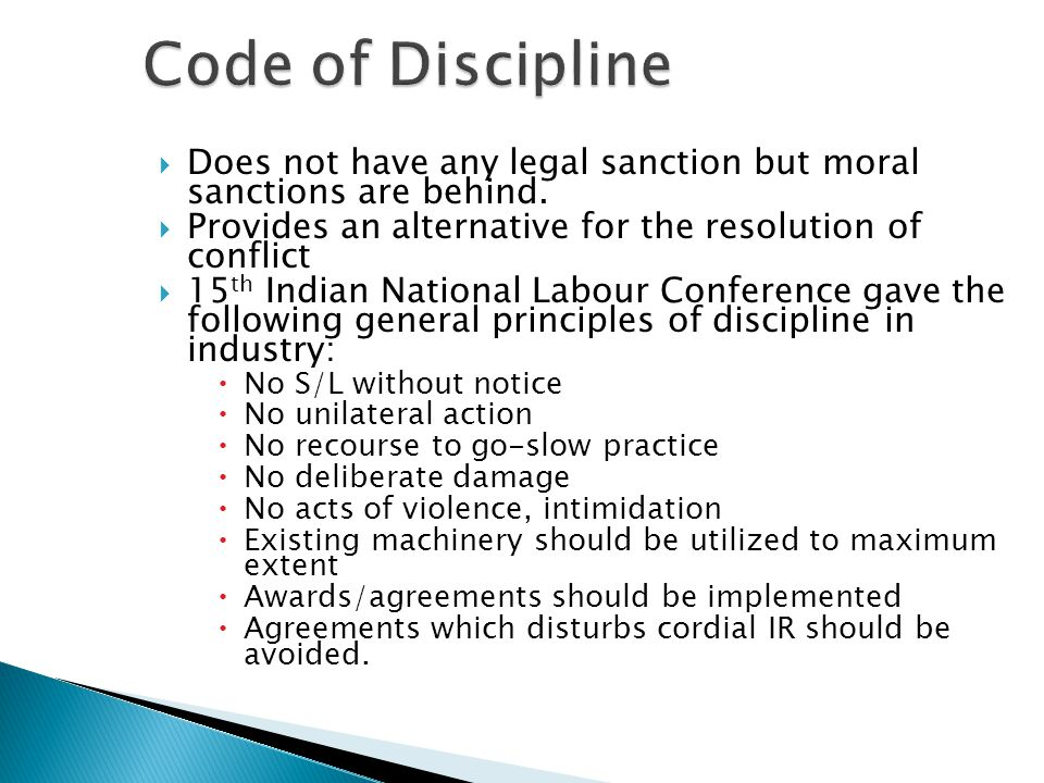  Does not have any legal sanction but moral sanctions are behind.  Provides an alternative for the resolution of conflict  15 th Indian National La