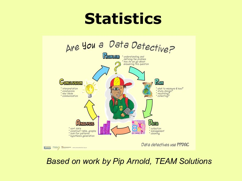 Statistics Based on work by Pip Arnold, TEAM Solutions