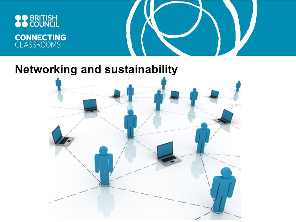 Networking and sustainability