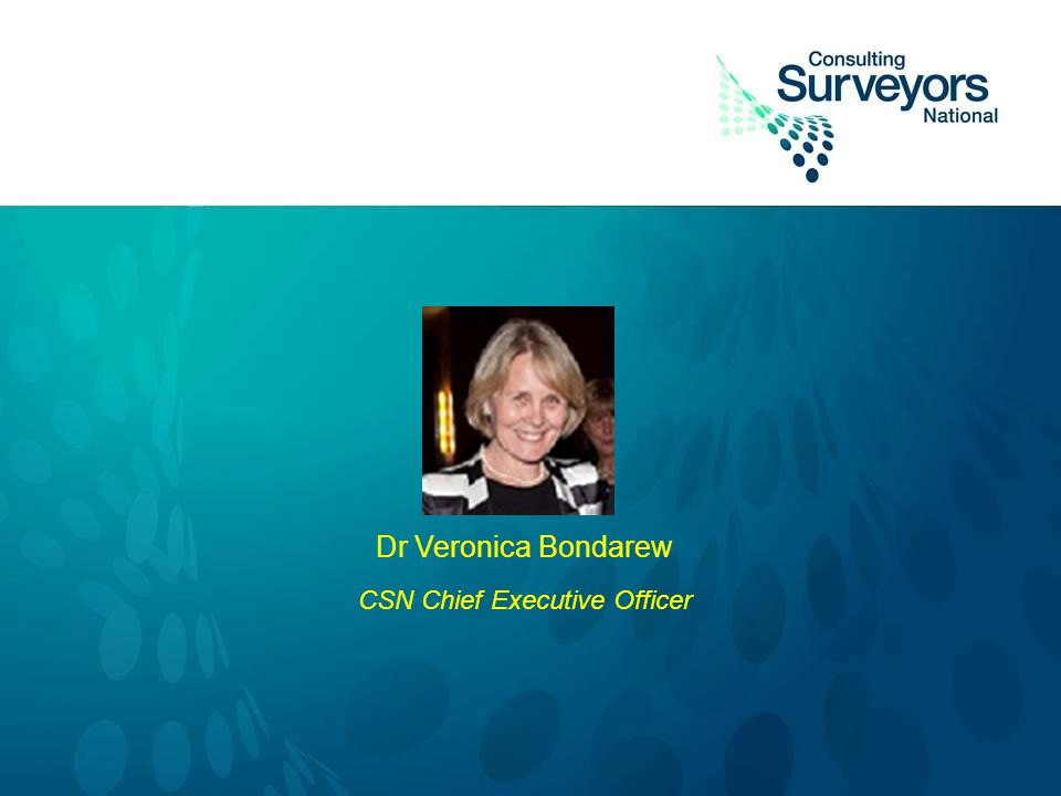 Dr Veronica Bondarew CSN Chief Executive Officer