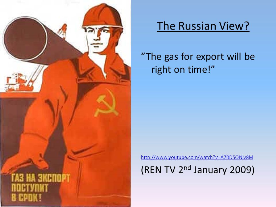 The Russian View.