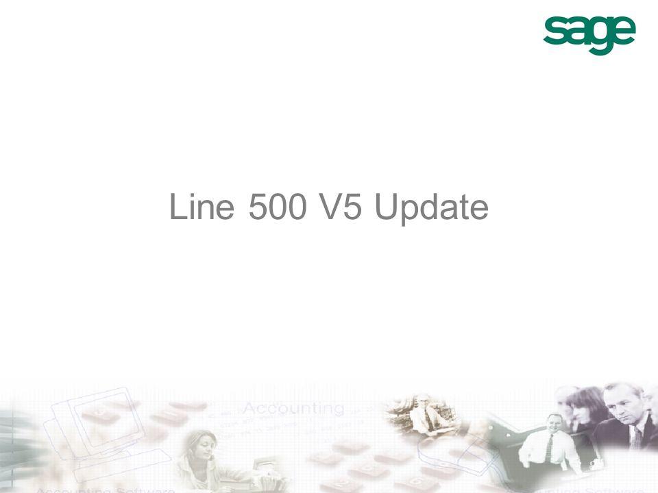 Line 500 V5 Update