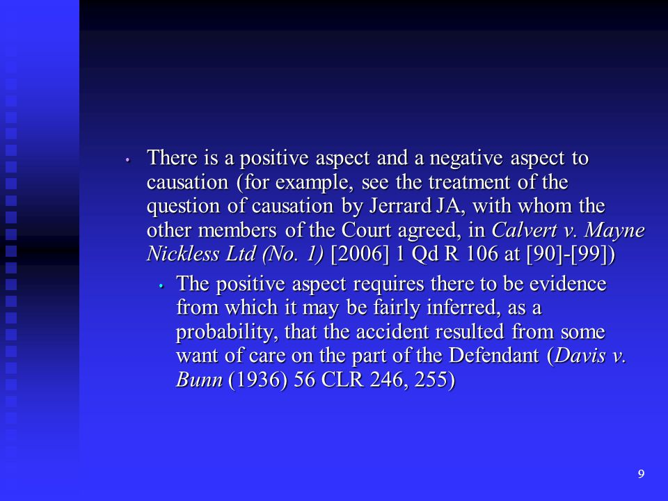 50 If such a chance is established, on the probabilities, then it is damage sufficient for a claim in contract, tort or (depending on the statute) on a statutory basis, such as the TPA (Sellars v.