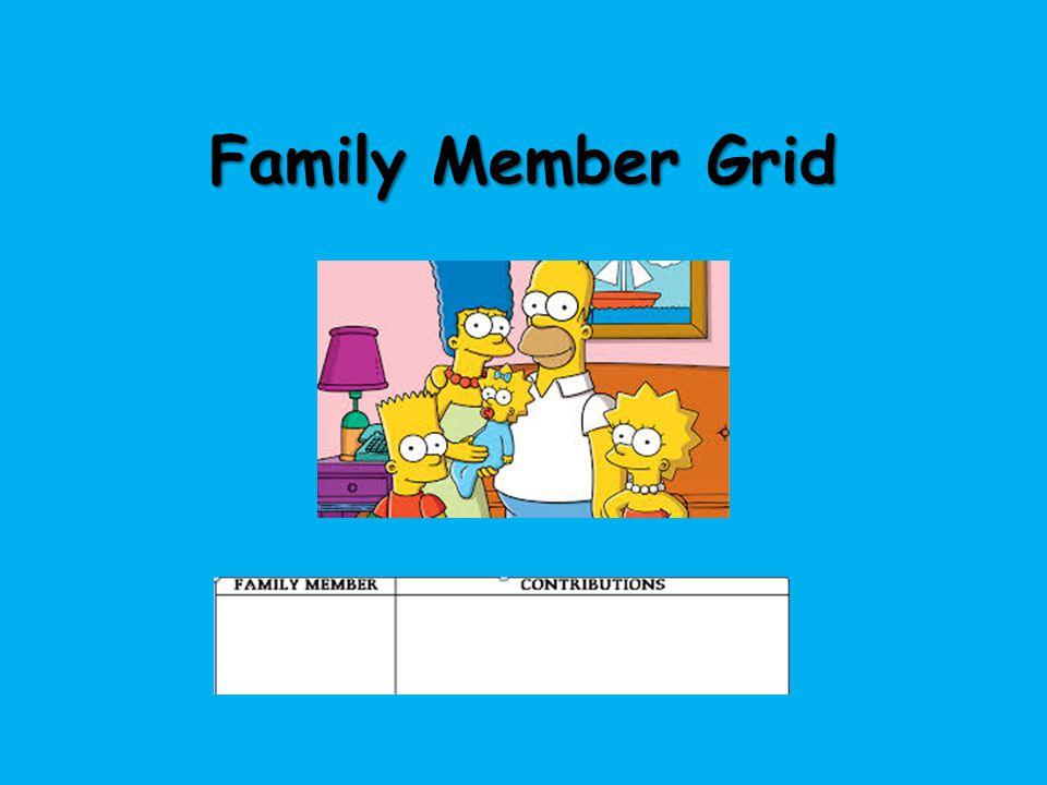 Family Member Grid