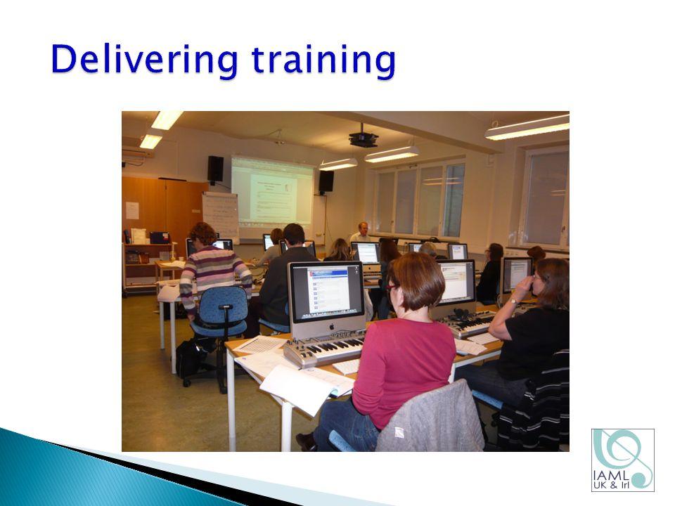Delivering training
